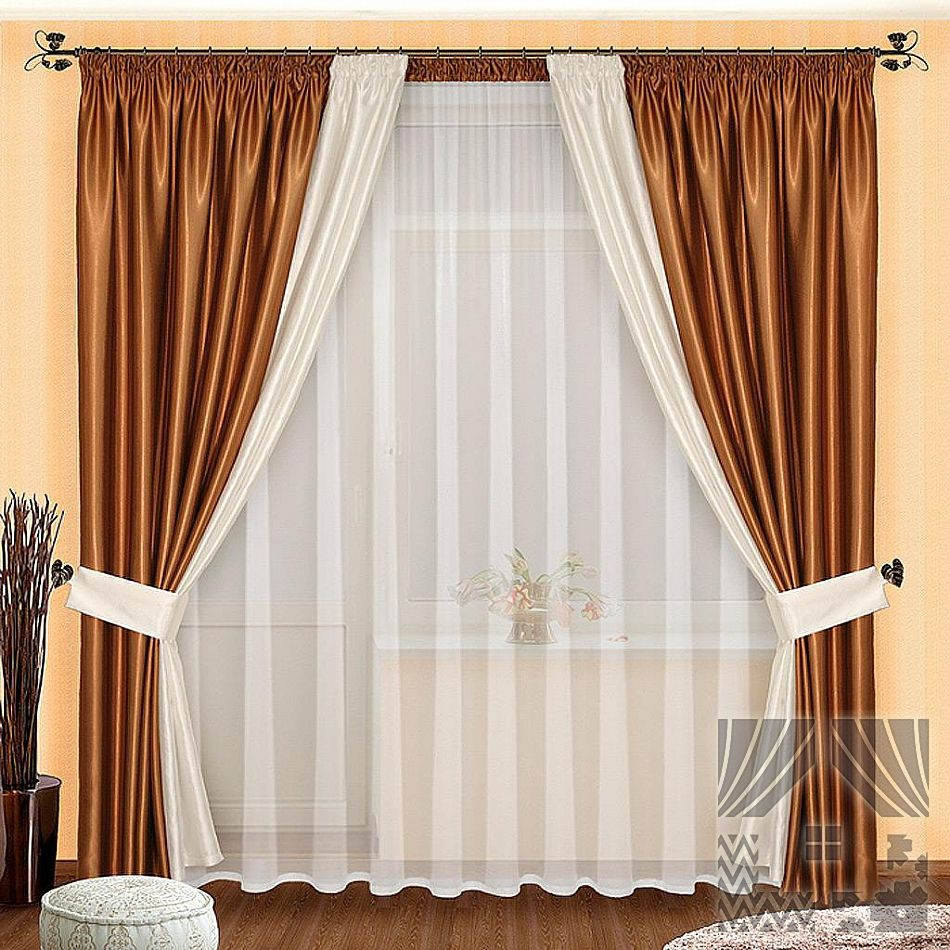 Как сшить шторы в спальню своими руками фото