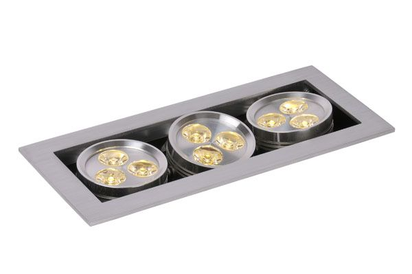 Купить Спот Lucide LED HOME 28904/29/12 Металл(мат.хром) H7,5 W9 L21/9X1W/CREE HP LED/3000K