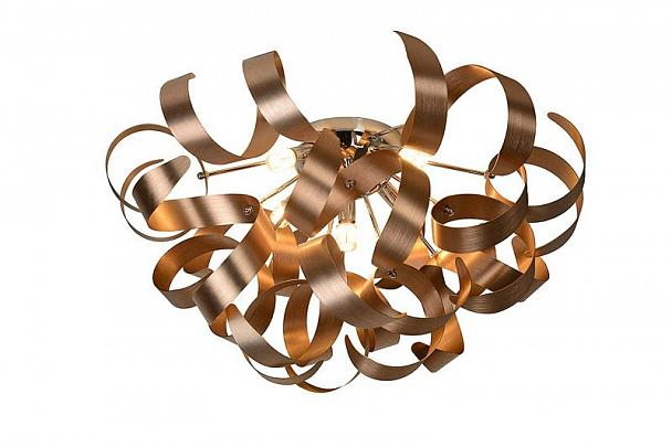 Купить Светильник Lucide ATOMA Ceiling L. LED 5xG9/4W (49004/04/31) Copper