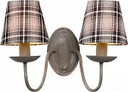 Купить Бра Arte Lamp Scotch A3090AP-2GY