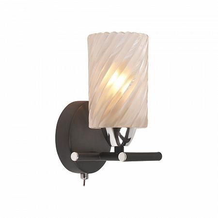 Купить Бра IDLamp Frances 208/1A-Blackchrome